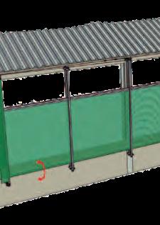 шторы для коровника